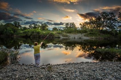 Glenda fishing