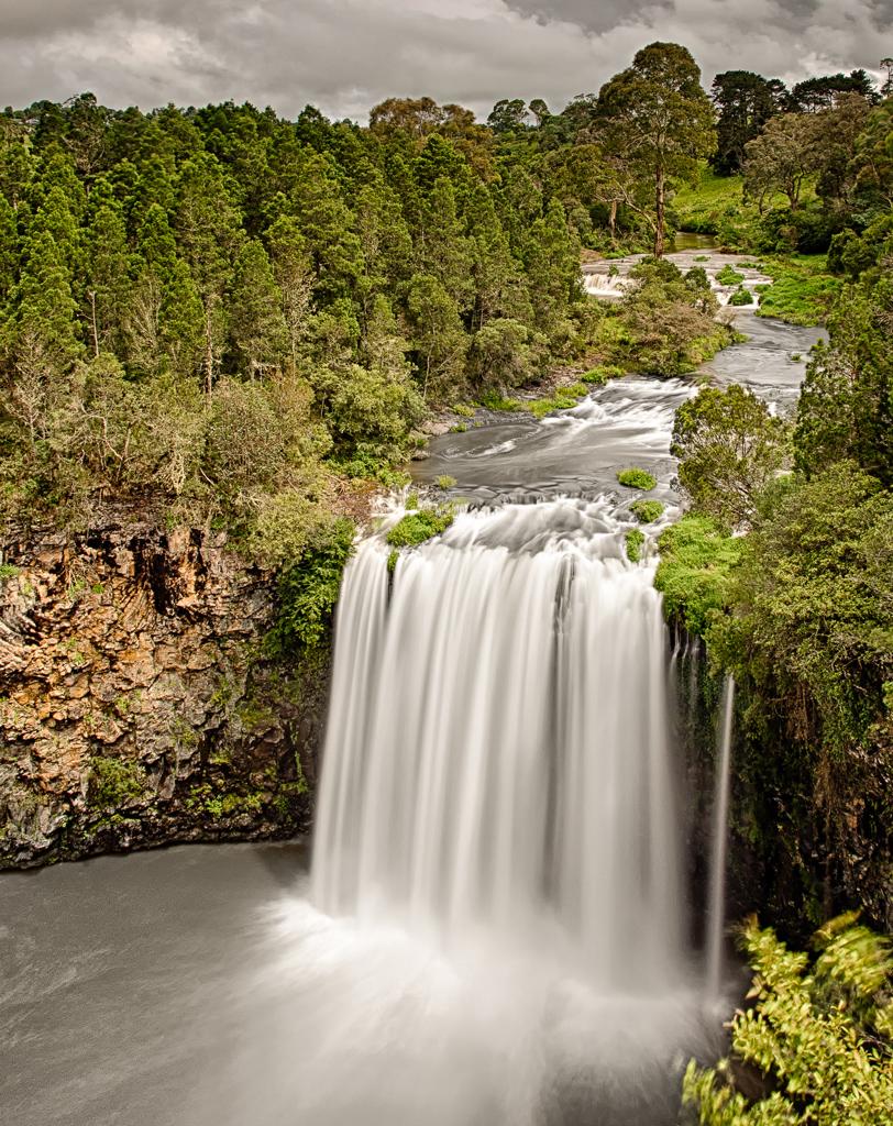 Dangar Falls Above
